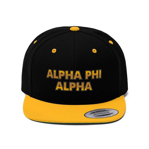 Image of Alpha Phi Alpha Snaphat - Unique Greek Store