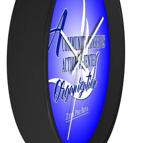 Zeta Phi Beta Wall Clock - Unique Greek Store