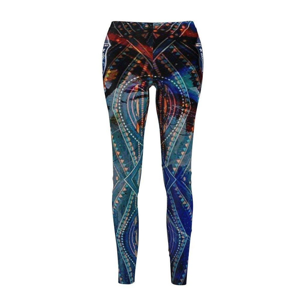 Zeta Phi Beta Women's Cut & Sew Casual Leggings - Unique Greek Store