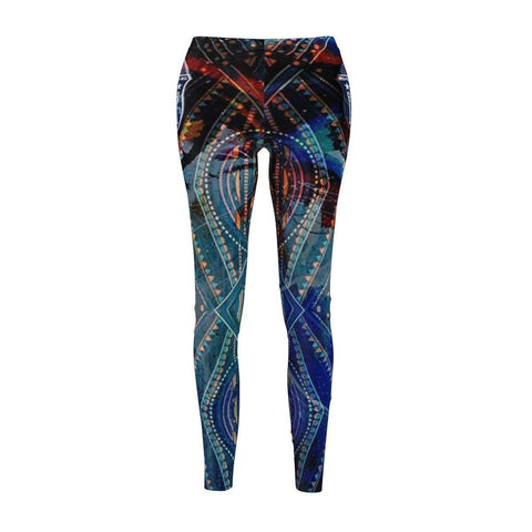 Image of Zeta Phi Beta Women's Cut & Sew Casual Leggings - Unique Greek Store