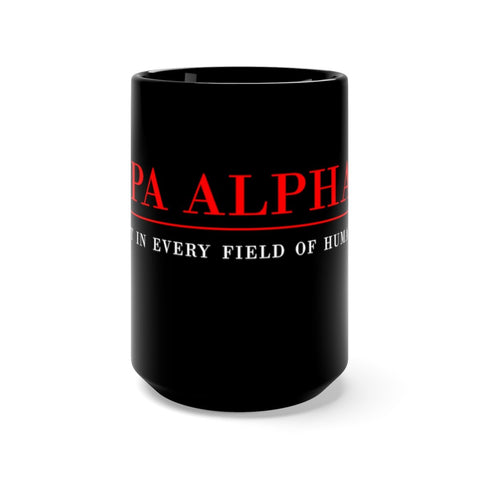 Image of Kappa Alpha Psi 15oz Black Mug