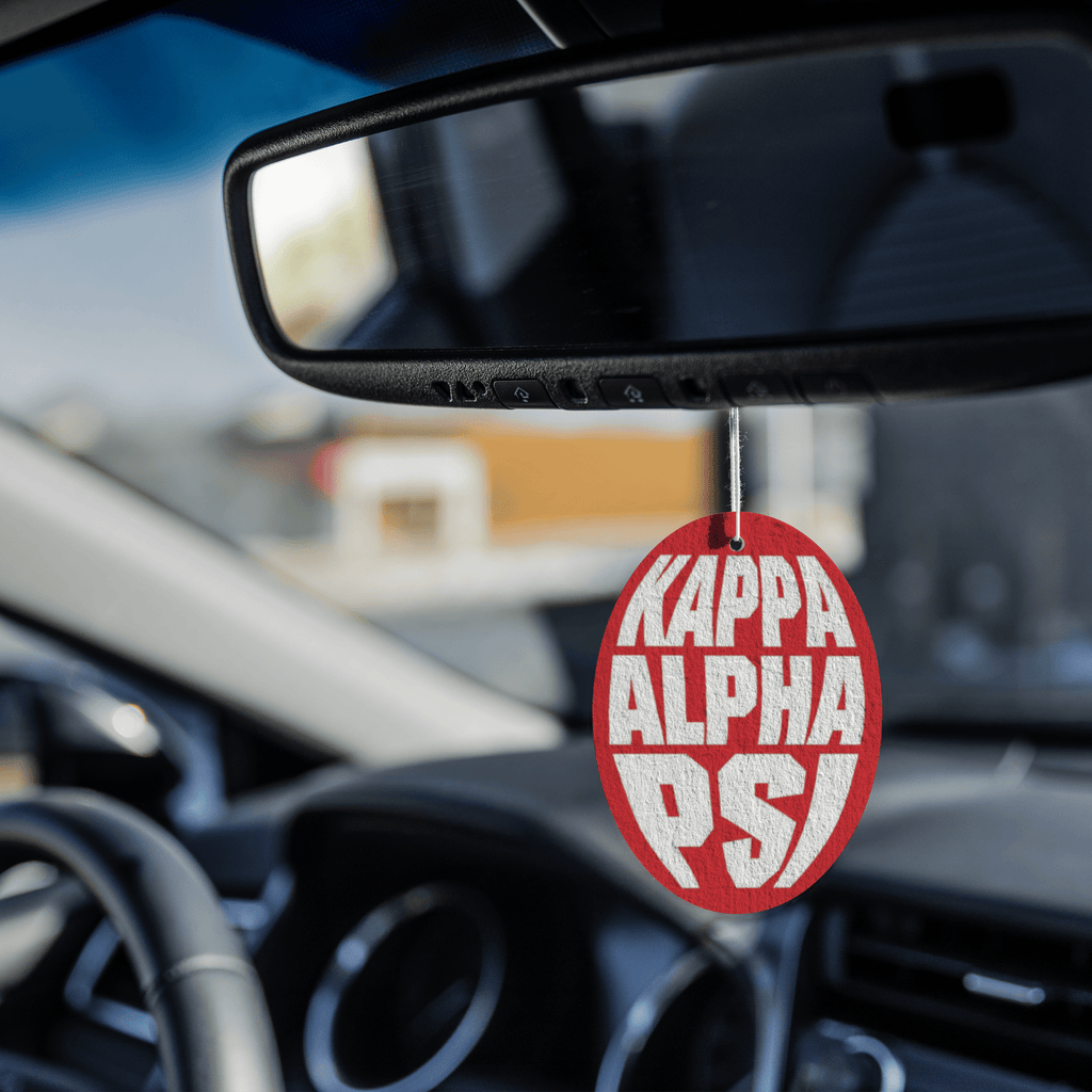 Kappa Alpha Psi Air Freshener