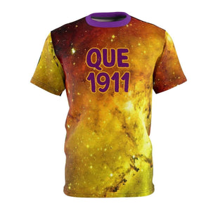 Omega Psi Phi Galaxy Tee - Unique Greek Store