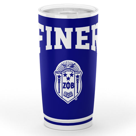 Image of Zeta Phi Beta 20 oz Tumbler
