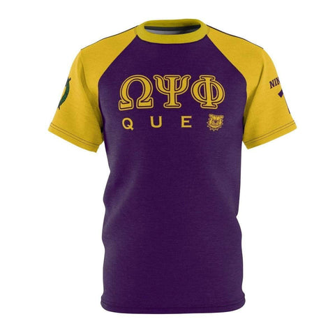 Image of Omega Psi Phi QUE Tee - Unique Greek Store