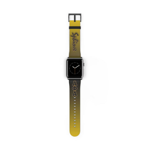 Image of Alpha Phi Alpha Watch Strap