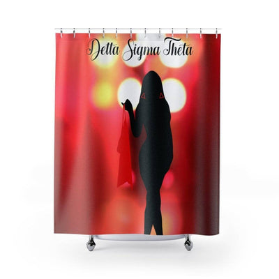 Delta Sigma Theta Shower Curtains II - Unique Greek Store