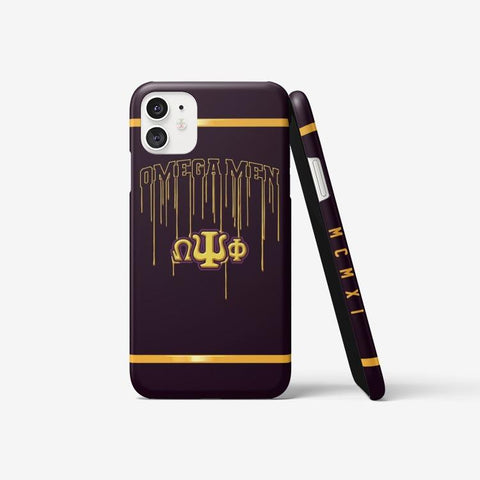 Omega Psi Phi Emblem Iphone 11 Case