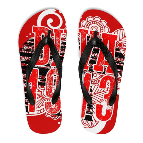 Image of Delta Sigma Theta Unisex Flip-Flops - Unique Greek Store