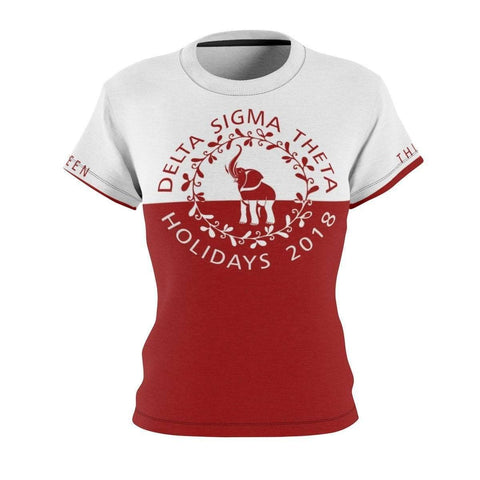 Image of Delta Sigma Theta Holidays 2018 Tee - Unique Greek Store