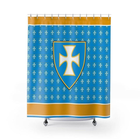 Image of Sigma Chi Shower Curtains - Unique Greek Store