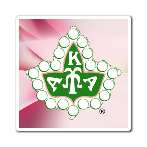 Alpha Kappa Alpha Ivy Leaf Magnets
