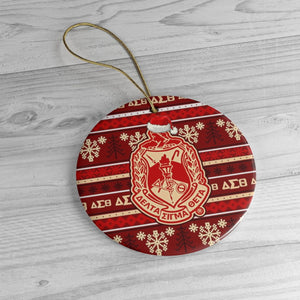 Delta Sigma Theta Christmas Decor Ornaments