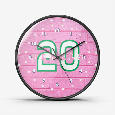 Alpha Kappa Alpha Year 20 Wall Clock