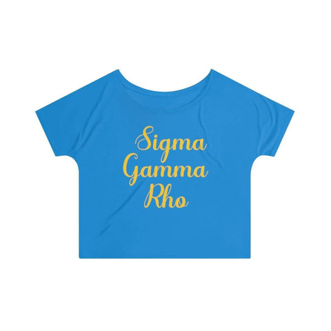 Image of Sigma Gamma Rho Slouchy Top