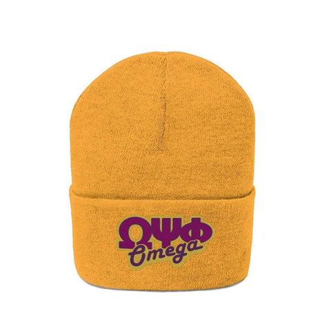 Image of Omega Psi Phi Beanie Hat - Unique Greek Store