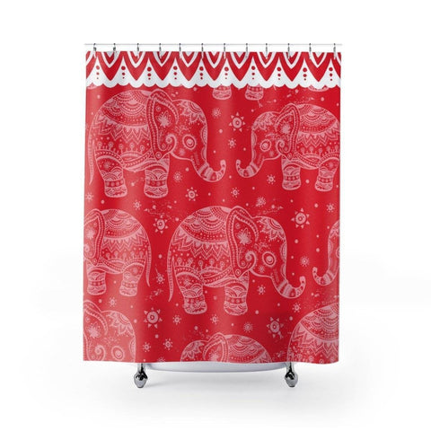 Image of Delta Sigma Theta Shower Curtains - Unique Greek Store