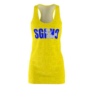 Sigma Gamma Rho Women's Cut & Sew Racerback Dress - Unique Greek Store