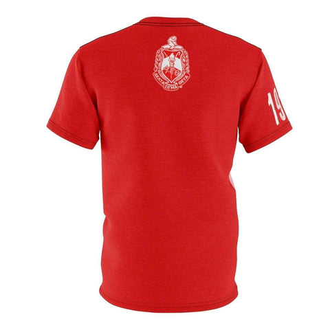 Image of Delta Sigma Theta AOP Cut & Sew Tee - Unique Greek Store