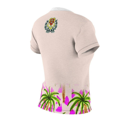 Image of Chi Omega Tropical  Tees - Unique Greek Store