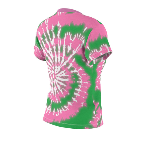 Image of Alpha Kappa Alpha Sorority Tie Dye Tee