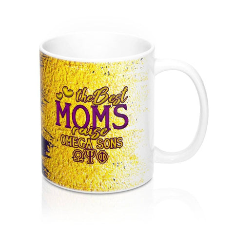 Image of Omega Psi Phi The Best Moms Mugs