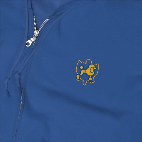 Sigma Gamma Rho Embroidery Zip Up Hoodie