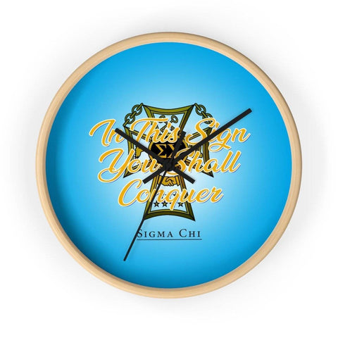 Image of Sigma Chi Wall clock - Unique Greek Store