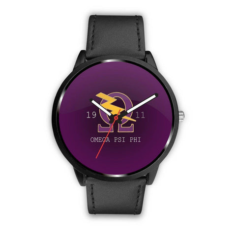 Omega Psi Phi Watch - Unique Greek Store