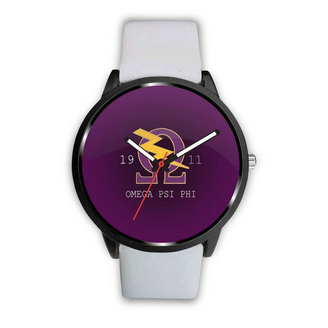 Image of Omega Psi Phi Watch - Unique Greek Store