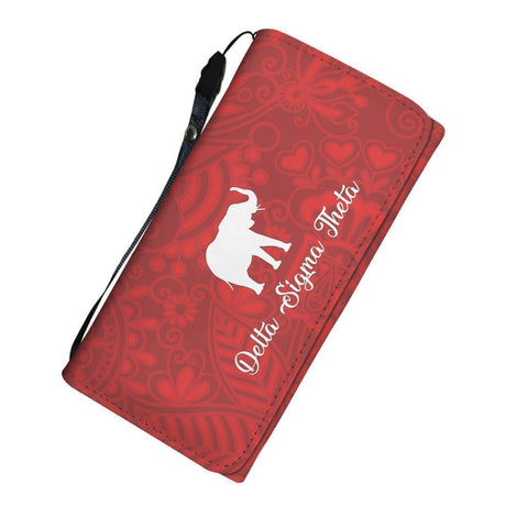 Delta Sigma Theta Womens Wallet - Unique Greek Store