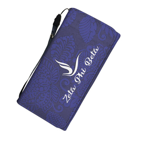 Zeta Phi Beta Womens Wallet - Unique Greek Store
