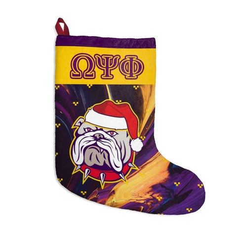 Image of Omega Psi Phi 2018 Christmas Stockings - Unique Greek Store
