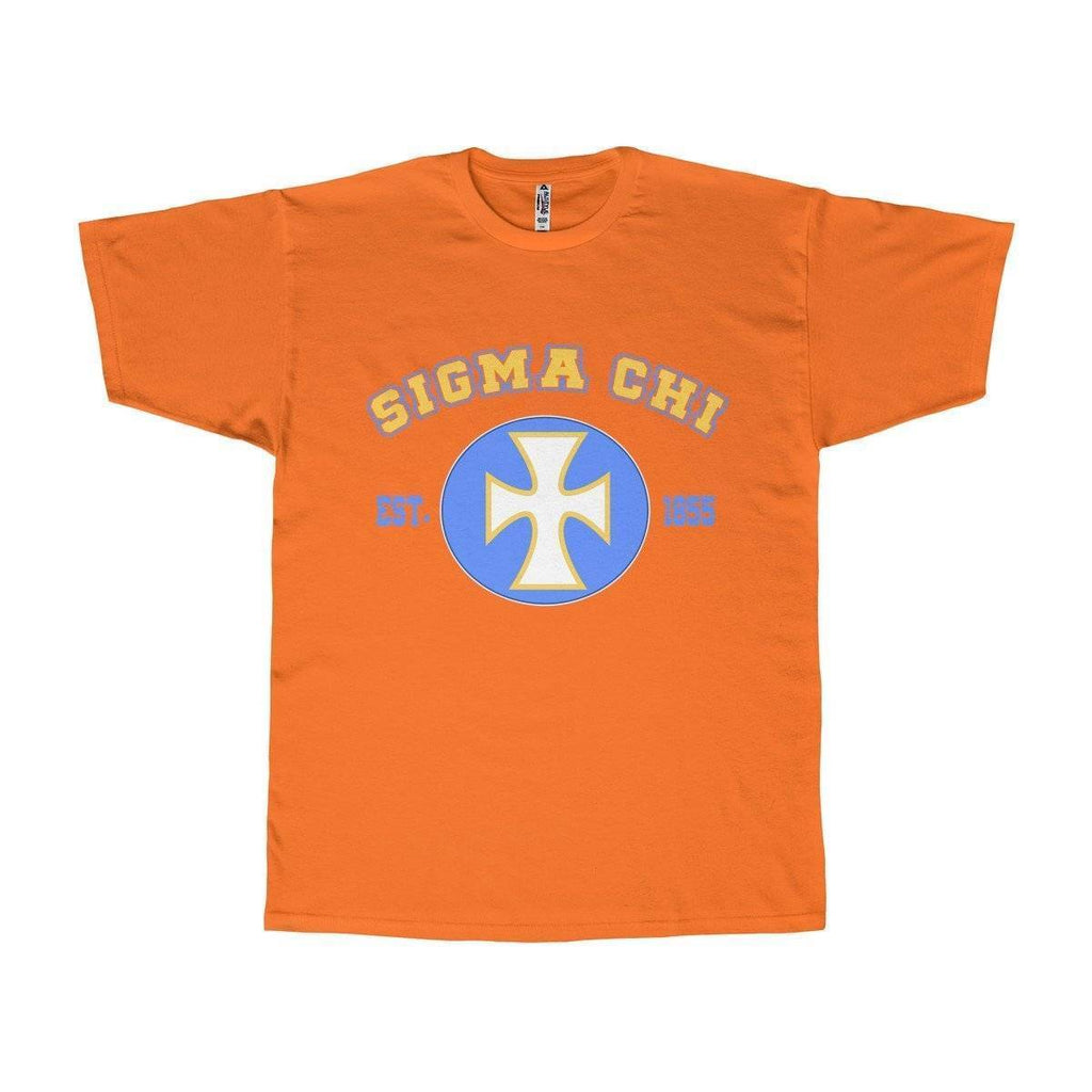 Sigma Chi Logo and Founding Year Tee - Unique Greek Store