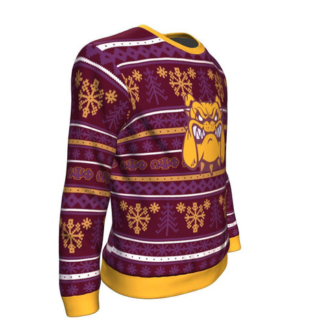 Image of Omega Psi Phi Christmas Sweatshirt