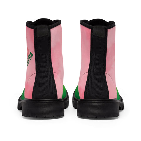 Image of Alpha Kappa Alpha 1908 Canvas Boots