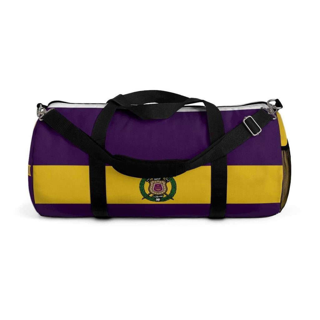 d4bd4ac3ac90 Omega Psi Phi Duffle Bag - Unique Greek Store. Hover to zoom