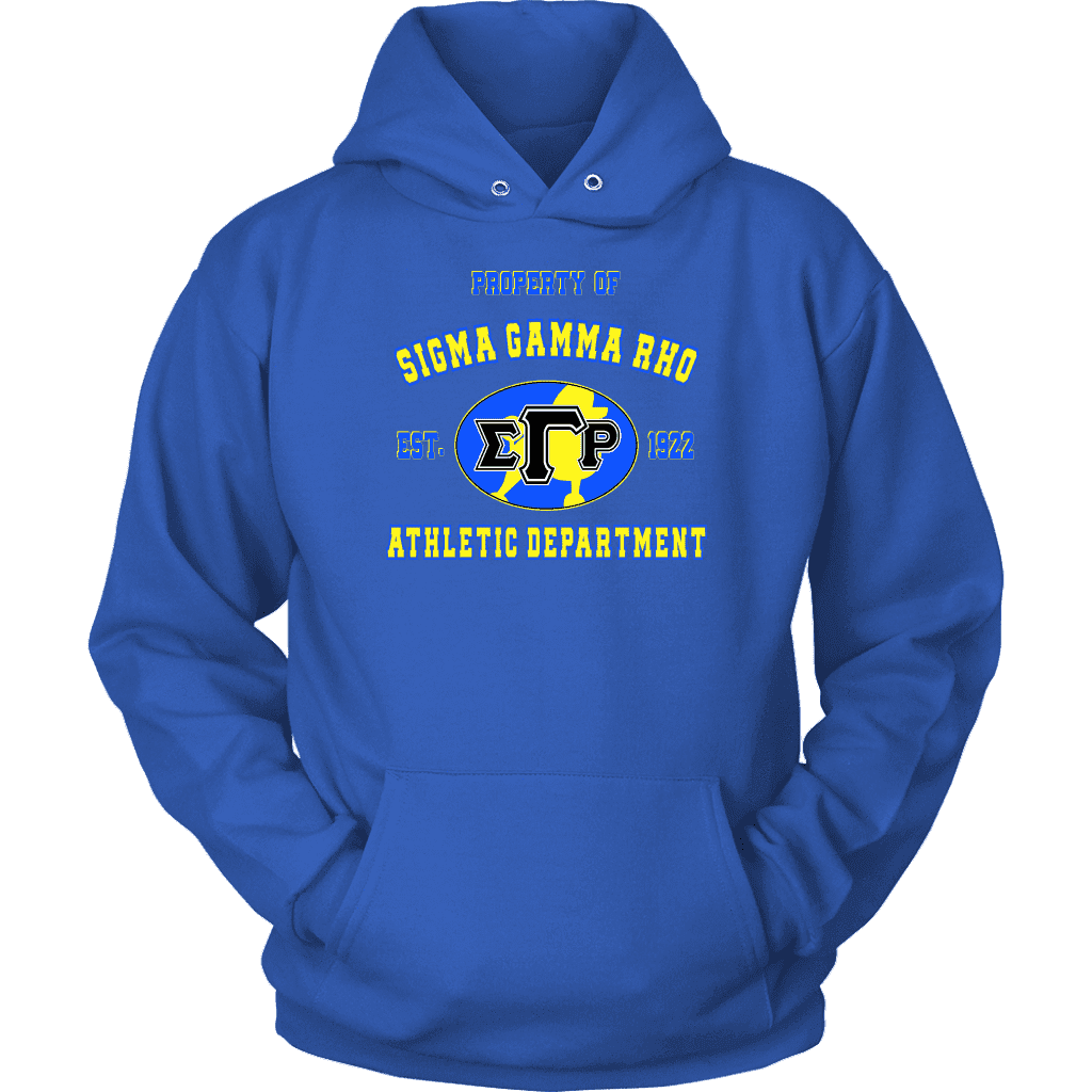 Sigma Gamma Rho Varsity Hoodie - Unique Greek Store