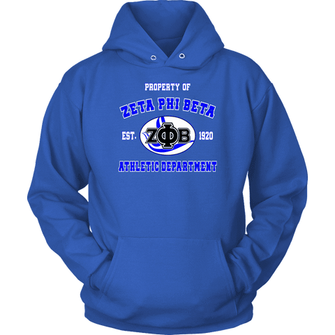 Zeta Phi Beta Varsity Hoodie - Unique Greek Store