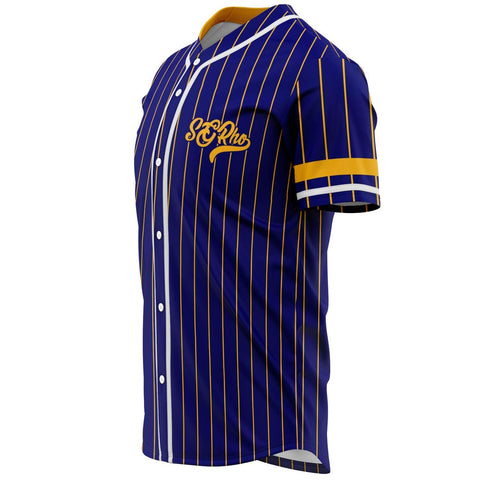 Sigma Gamma Rho Striped Baseball Jersey Tee