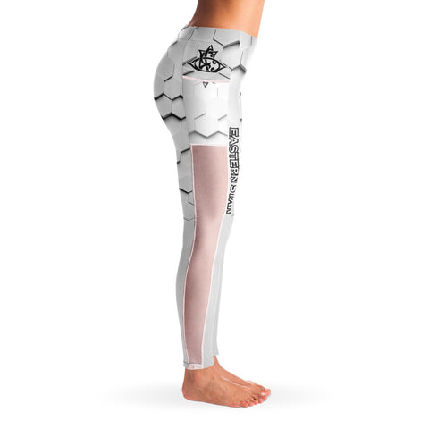 Image of Order of the Eastern Star Mesh Pocket Leggings