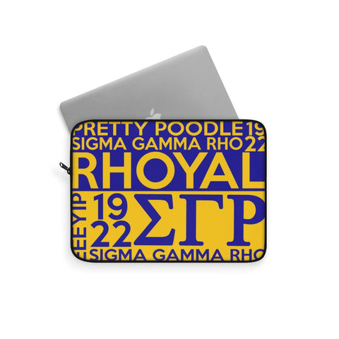 Image of Sigma Gamma Rho Laptop Sleeve