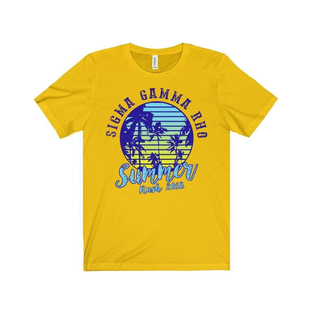 Sigma Gamma Rho Summer Tees - Unique Greek Store