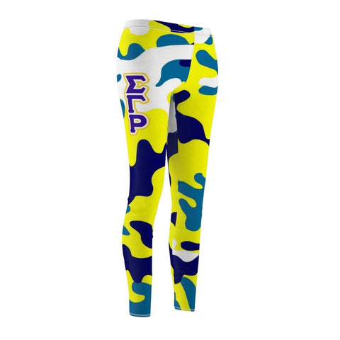 Image of Sigma Gamma Rho Camouflage Leggings