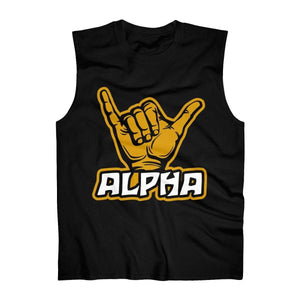 Alpha Phi Alpha Sign Tank Top