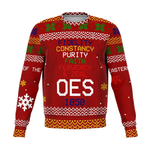 Order of the Eastern Star Christmas Holiday Ugly Sweater
