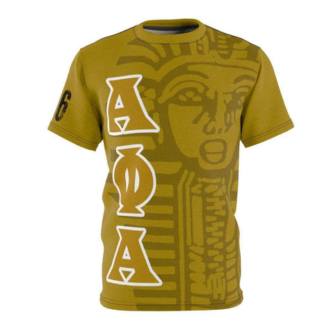 Image of Alpha Phi Alpha AOP Cut & Sew Tee - Unique Greek Store