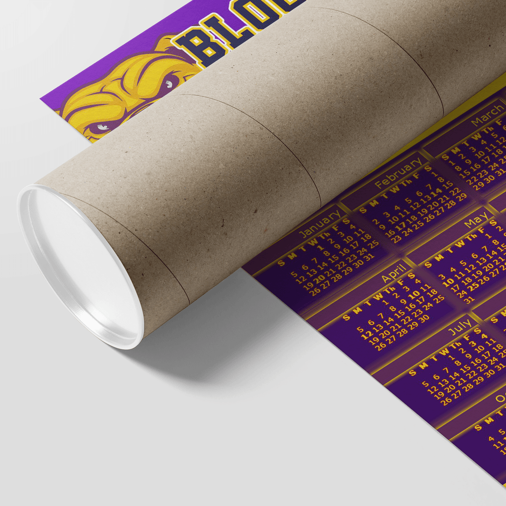 Omega Psi Phi Blood Sweat 2019 Year Calendar