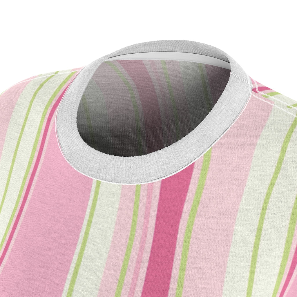 Alpha Kappa Alpha Striped Tee