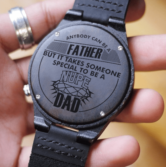 Kappa Alpha Psi Proud Dad Engraved Watch